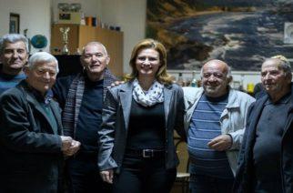 Στα Δίκαια παρά την κακοκαιρία η Μαρία Γκουγκουσκίδου – Άκουσε τα προβλήματα και αιτήματα των κατοίκων (φωτορεπορτάζ)