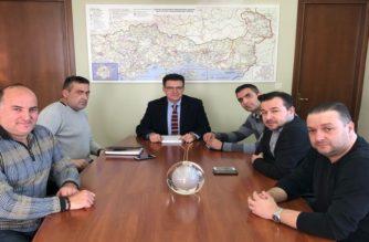 Συνάντηση Πέτροβιτς με το Δ.Σ της Ένωσης Συνοριακών Φυλάκων Ν. Έβρου
