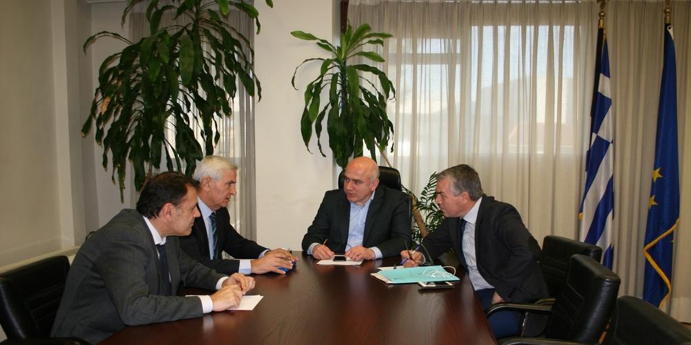 Συνάντηση Χρ. Μέτιου με βουλευτές της Περιφέρειας ΑΜ-Θ, για το μέλλον της Ανώτατης Εκπαίδευσης στην περιοχή