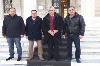 Συνάντηση των Αστυνομικών Ορεστιάδας με τον βουλευτή Ν.Δ Τάσο Δημοσχάκη στη Βουλή