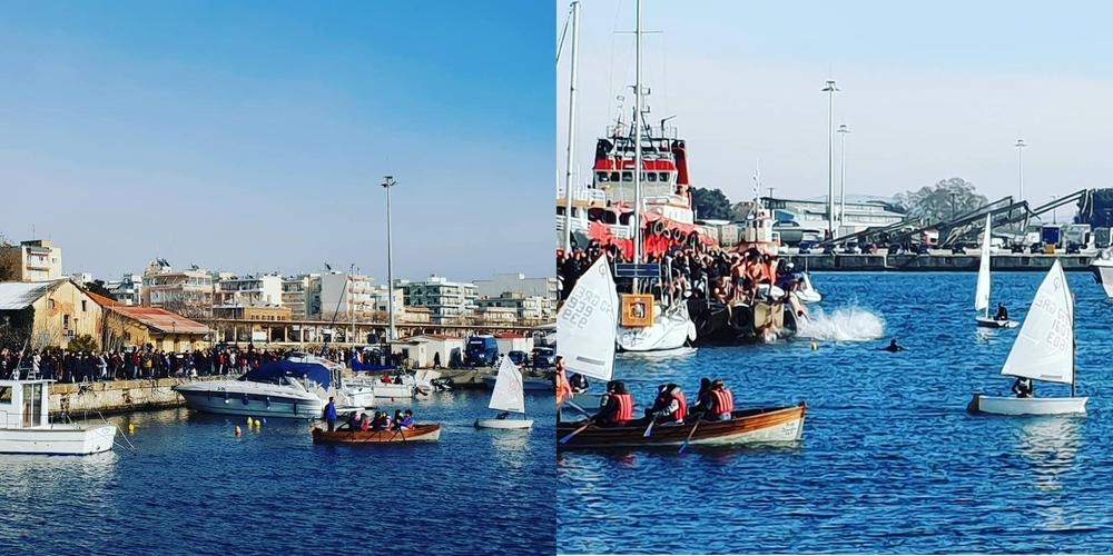 Με λαμπρότητα ο εορτασμός των Θεοφανείων στην Αλεξανδρούπολη (ΒΙΝΤΕΟ+φωτό)