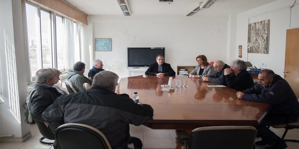"""Επίσκεψη Μαρίας Γκουγκουσκίδου στο Εργοστάσιο Ζάχαρης: """"Ενώνουμε τη φωνή μας με όσους το θέλουν ανοιχτό"""""""