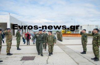 """Βγήκε απ' το νοσοκομείο και """"πέταξε"""" για Αθήνα ο νέος Αρχηγός ΓΕΣ Γεώργιος Καμπάς (φωτορεπορτάζ)"""