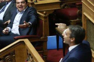 """Μητσοτάκης σε Τσίπρα: """"Μόνο εσείς οι αριστεροί και η χούντα, κάνατε υπουργό Εθνικής Άμυνας εν ενεργεία στρατιωτικό"""""""