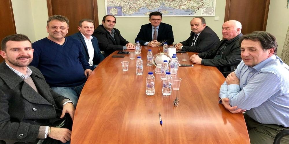 Συνάντηση Πέτροβιτς με ΓΣΕΒΕΕ για καταπολέμηση παραεμπορίου-λαθρεμπορίου και ενίσχυση συνοριακών σταθμών