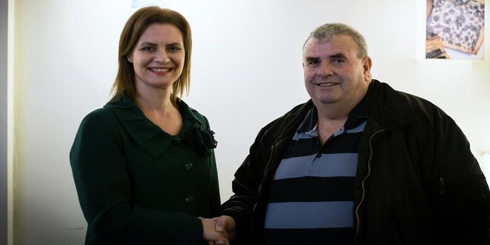 Ορεστιάδα: Ανακοίνωσε την υποψηφιότητα του Βασίλη Δροσίδη και επισκέφθηκε την Φτελιά η Μαρία Γκουγκουσκίδου