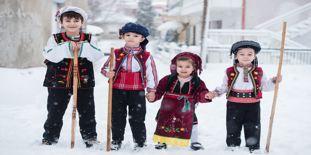 Δεν… μασάνε οι Εβρίτες ούτε από χιόνια, ούτε από πολικά κρύα