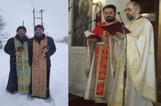 Ιερείς και στο Νεοχώρι Ορεστιάδας αψήφισαν χιόνια και κρύο αγιάζοντας τα σπίτια