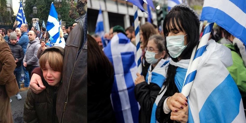 Τι ν' απαντήσεις στον ανιψιό Χάρη που ρωτούσε: Γιατί μας πετούν χημικά; Αυτοί δεν είναι Έλληνες;