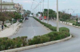 Κυκλοφοριακά προβλήματα στην παραλιακή οδό της Αλεξανδρούπολης
