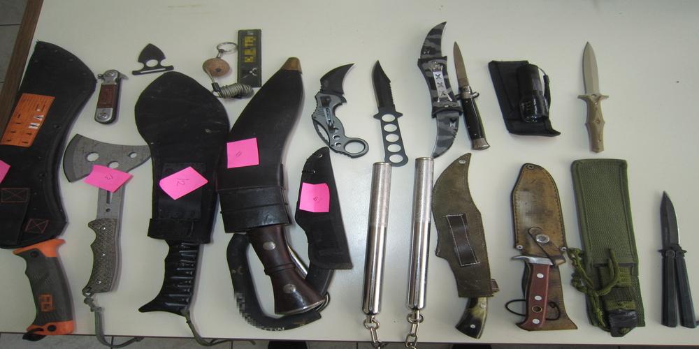 Αλεξανδρούπολη: Ότι μαχαίρι μπορεί να σκεφτεί κανείς είχε 20χρονος που συνελήφθη