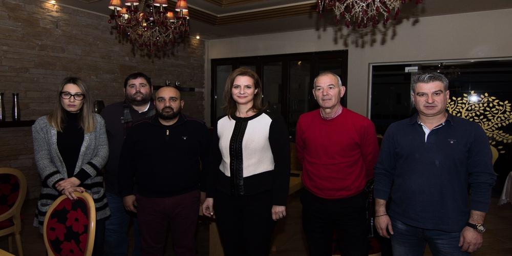 Ορεστιάδα: Τα προβλήματα των επιχειρηματιών συζήτησε με το προεδρείο των Βιοτεχνών-Βιομηχάνων η Μαρία Γκουγκουσκίδου