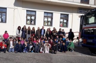 Δωρεά πετρελαίου στο σχολείο Μεταξάδων Διδυμοτείχου από το International Foundation for Greece