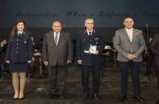 Βράβευση της Αστυνομικής Διεύθυνσης Ορεστιάδας ως μιας απ' τις Υπηρεσίες της χρονιάς
