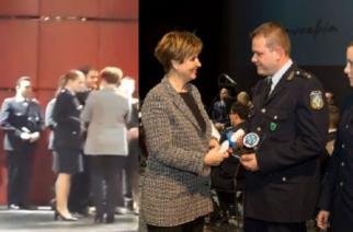 """Βραβεύθηκε ως """"Αστυνομικός της χρονιάς"""" η Υπαστυνόμος Α΄ Μάρθα Παναγιωτούδη απ' το Διδυμότειχο"""