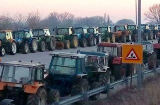 Κλείνουν με μπλόκο τον κόμβο των Καστανεών οι αγρότες του Έβρου