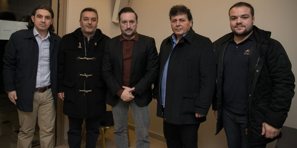 Με την διοίκηση του Συλλόγου καταστημάτων καφέ και εστίασης Αλεξανδρούπολης συναντήθηκε ο Γιάννης Ζαμπούκης