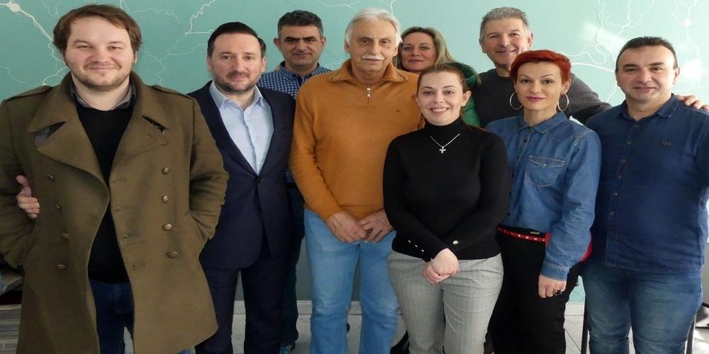 Αλεξανδρούπολη: Με τους Βετεράνους Αθλητές στίβου Θράκης συναντήθηκε ο υποψήφιος δήμαρχος Γιάννης Ζαμπούκης