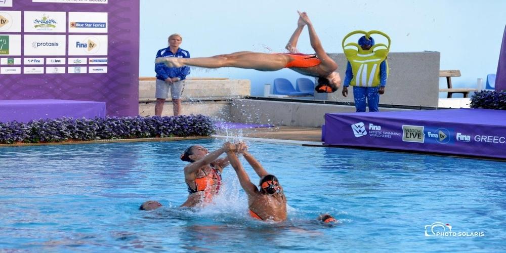 """Ξεκίνησαν οι προετοιμασίες για το """"Hellas Beetles FINA Artistic Swimming World Series"""" στην Αλεξανδρούπολη"""