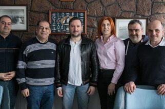 Συνάντηση Γιάννη Ζαμπούκη και συνεργατών του με την Διοίκηση του Ναυταθλητικού Ομίλου Αλεξανδρούπολης (ΝΟΑ)