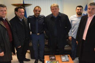 """Επίσκεψη του υποψήφιου δημάρχου Αλεξανδρούπολης Βαγγέλη Μυτιληνού στο αεροδρόμιο """"Δημόκριτος"""""""