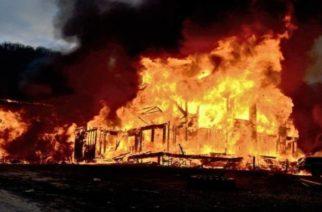Κάηκε ολοσχερώς από πυρκαγιά σπίτι στο Πραγγί Διδυμοτείχου