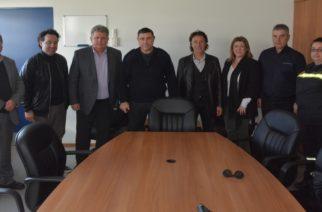Αλεξανδρούπολη: Επίσκεψη του υποψήφιου δημάρχου Βαγγέλη Μυτιληνού σε Πυροσβεστική Υπηρεσία και Παιδικό Χωριό SOS Θράκης