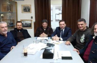 Συνάντηση του υποψηφίου δημάρχου Γιάννη Ζαμπούκη με τη διοίκηση του ΜΓΣ Εθνικού Αλεξανδρούπολης