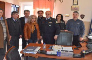 Αλεξανδρούπολη: Επίσκεψη του υποψήφιου Δημάρχου Αλεξανδρούπολης Βαγγέλη Μυτιληνού σε Αστυνομική Διεύθυνση και Ένωση Απόστρατων
