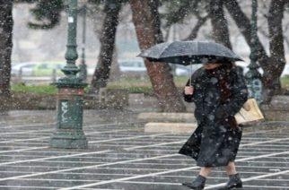 """Έκτακτο δελτίο ΕΜΥ: Έρχεται κύμα κακοκαιρίας με χιόνια και """"βουτιά"""" 10 βαθμούς στη θερμοκρασία"""