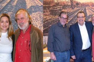 """Στο μεζεδοπωλείο-εβρίτικο στέκι """"Παπαγάλος"""" του συντοπίτη μας Π.Γκαϊδατζή στην Αθήνα, βρέθηκαν Ν.Γκαρά και Σ.Φάμελος"""