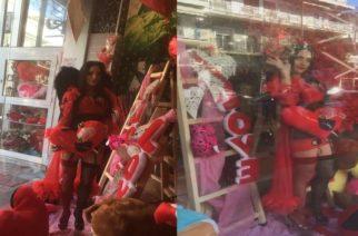 Ορεστιάδα: Πρωτότυπο τρόπο βρήκε ανθοπώλης να προσελκύσει πελατεία σήμερα του Αγίου Βαλεντίνου (ΒΙΝΤΕΟ)