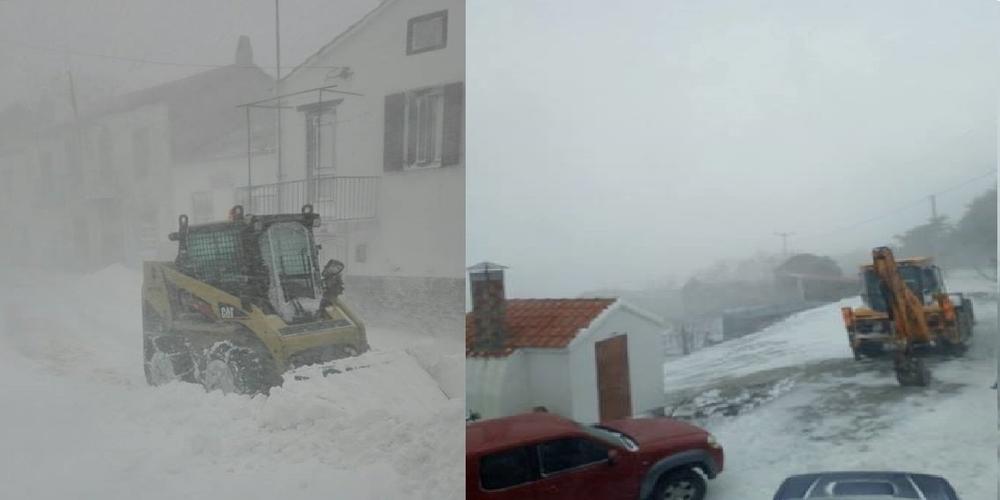 Σαμοθράκη: Σοβαρά προβλήματα από την κακοκαιρία και τα χιόνια στο νησί (ΒΙΝΤΕΟ)