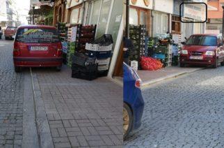 Δεν τους νοιάζει τίποτα – Άλλο αυτοκίνητο του Προέδρου της ΔΕΥΑ Αλεξανδρούπολης Γ. Ουζουνίδη παράνομα παρκαρισμένο!!!