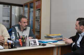 Θέματα του εβρίτικου ποδοσφαίρου συζήτησε ο υποψήφιος δήμαρχος Γιάννης Ζαμπούκης με την διοίκηση της ΕΠΣ Έβρου
