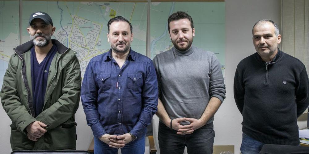 """Συνάντηση του υποψήφιου δημάρχου Γιάννη Ζαμπούκη με τη διοίκηση του Σωματείου Ιδιοκτητών ΤΑΞΙ Αλεξανδρούπολης """"ΦΑΡΟΣ"""""""