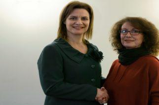 Υποψήφια με την Μαρία Γκουγκουσκίδου η Κατερίνα Καδοπούλου
