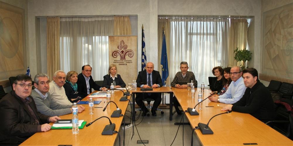 Συνεργασία ανάμεσα στην Περιφέρεια ΑΜΘ και τον ΕΦΕΤ για την ασφάλεια των τροφίμων