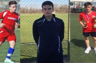 Στην εθνική Παίδων ο 13χρονος Εβρίτης Σαράντης Τσελεμπάκης που χθες πέτυχε χατ τρικ σ' ένα ημίχρονο