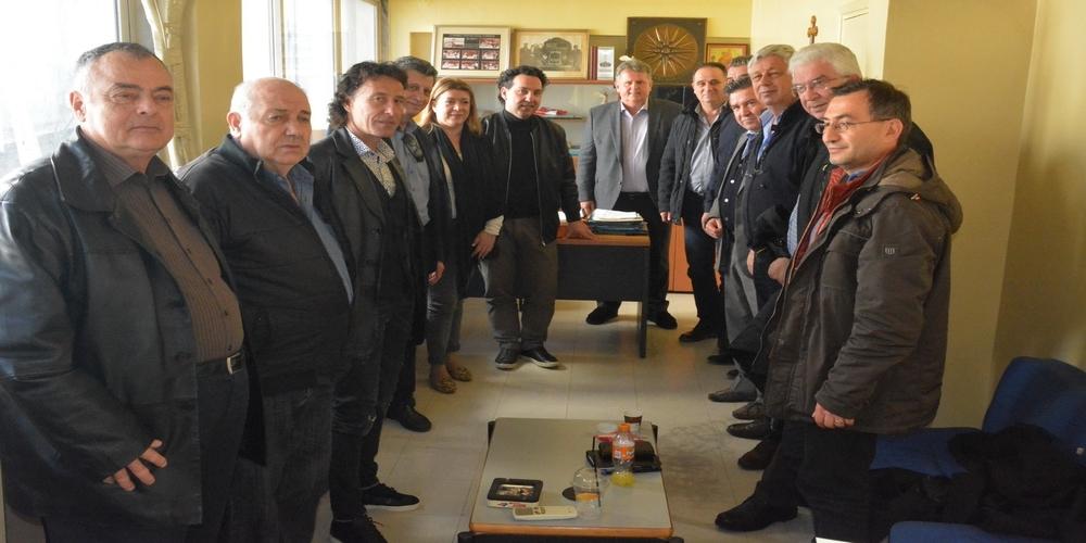 Συνάντηση του υποψήφιου δημάρχου Αλεξανδρούπολης Βαγγέλη Μυτιληνού με την διοίκηση του ΚΤΕΛ Έβρου