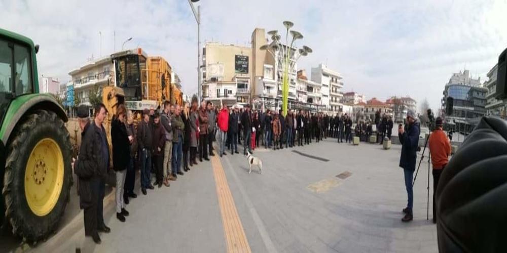 Ορεστιάδα: Πετυχημένη η συγκέντρωση διαμαρτυρίας τευτλοπαραγωγών, εργαζομένων και φορέων για το εργοστάσιο Ζάχαρης