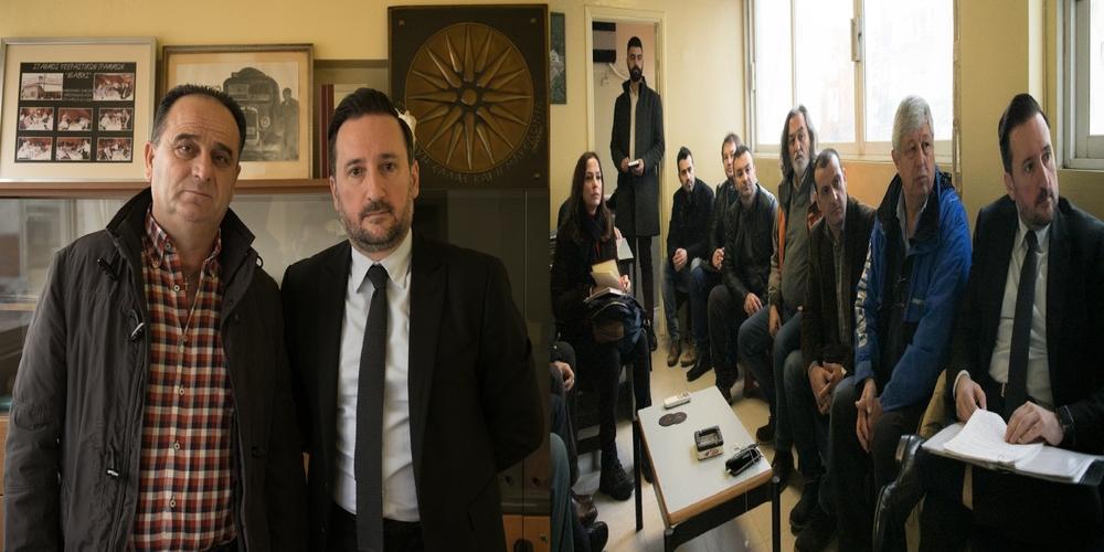 Με την διοίκηση του ΚΤΕΛ Έβρου συναντήθηκε ο υποψήφιος δήμαρχος Αλεξανδρούπολης Γιάννης Ζαμπούκης