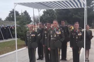 Αλεξανδρούπολη: Ανέλαβε καθήκοντα ο νέος Διοικητής της ΧΙΙ Μεραρχίας Υποστράτηγος Άγγελος Χουδελούδης (ΒΙΝΤΕΟ)