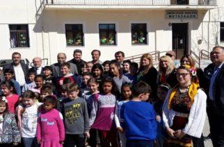 Στον Έβρο απ' όπου κατάγεται, περιόδευσε χθες η υφυπουργός Μακεδονίας-Θράκης Ελευθερία Χατζηγεωργίου (φωτορεπορτάζ)