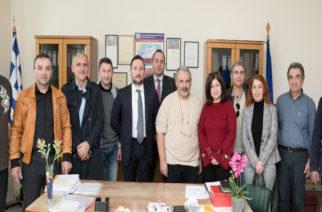 Αλεξανδρούπολη: Συνάντηση του υποψήφιου δημάρχου Γιάννη Ζαμπούκη με την διοίκηση του Π.Γ.Ν Αλεξανδρούπολης