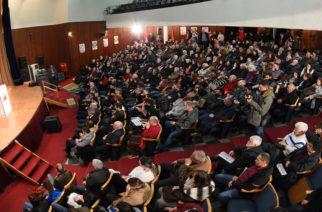 Η περιοδεία Κουτσούμπα στον Έβρο με ομιλία στην Αλεξανδρούπολη, επίσκεψη στο εργοτάξιο του ΤΑΠ και την Κορνοφωλιά