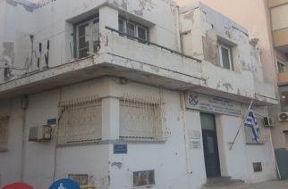 """Κατάσταση και """"εικόνα"""" ντροπής στο κτίριο που στεγάζει το Λιμεναρχείο Αλεξανδρούπολης"""