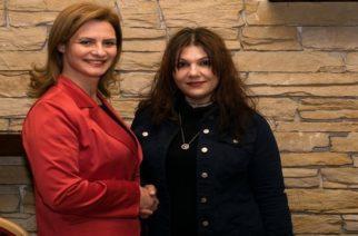 Υποψήφια και η Βαλεντίνα Λοκαρίδου με τη Μαρία Γκουγκουσκίδου στην Ορεστιάδα
