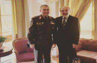 Συνάντηση του νέου Διοικητή της ΧΙΙ Μεραρχίας Υποστράτηγου Άγγελου Χουδελούδη με τον Δήμαρχο Αλεξανδρούπολης