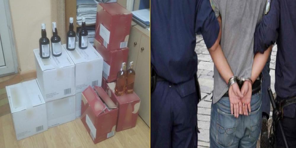 Διδυμότειχο: Συνέλαβαν 56χρονο συμπατριώτη μας με 120 μπουκάλια λαθραία ποτά